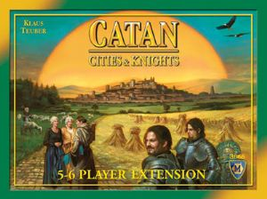 Settlers of Catan : Cities and Knights - 5 - 6 Player Expansion